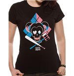 Suicide Squad - Cartoon Hq - Women Fitted T-shirt Black