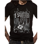 My Chemical Romance - I Survived - Unisex T-shirt Black