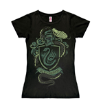 Harry Potter Easy Fit Ladies T-Shirt Slytherin