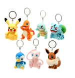 Pokemon Plush Keychains 8 cm Assortment (8)