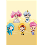 Sailor Moon Petit Chara Pretty Guardian Trading Figure 5-Pack Sailor Moon SuperS 6 cm