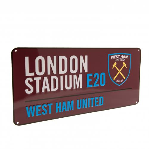 West Ham United F.C. Street Sign CL