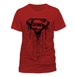 Superman T-Shirt Dripping