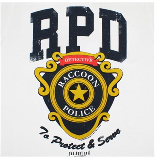 Official Resident Evil Rpd Protect Serve T Shirt Buy