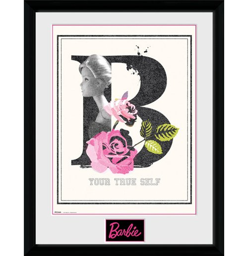 Barbie - True Self Framed Picture (30x40cm)