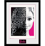 Barbie - Glamour Framed Picture (30x40cm)
