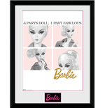 Barbie - Fabulous Framed Picture (30x40cm)