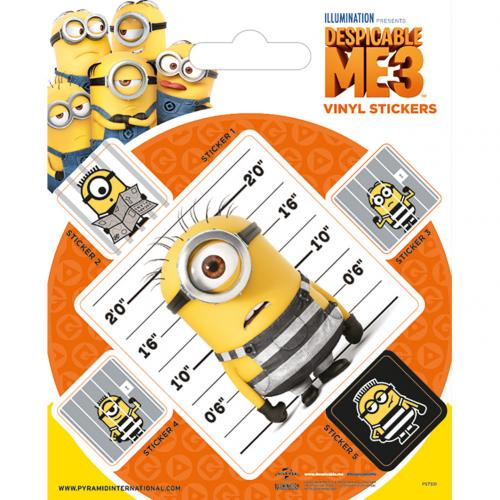 Despicable Me 3 Stickers