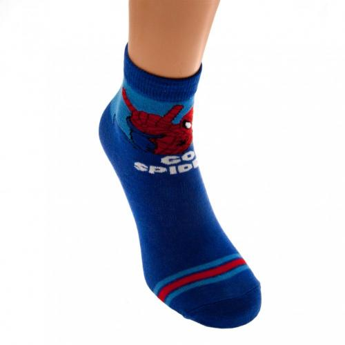 Spider-Man Boys Socks 1 Pack Junior 9-12 GS
