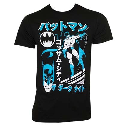 BATMAN Kanji Japanese Tee Shirt