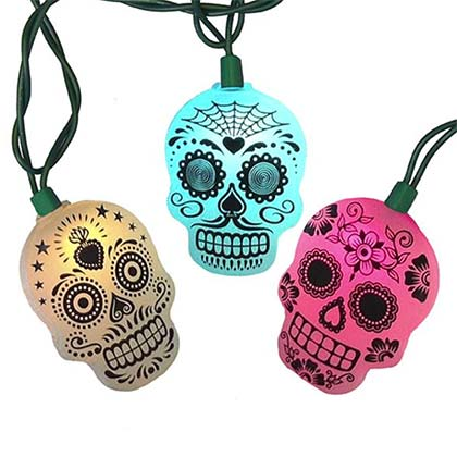 Day Of The Dead String Light Set