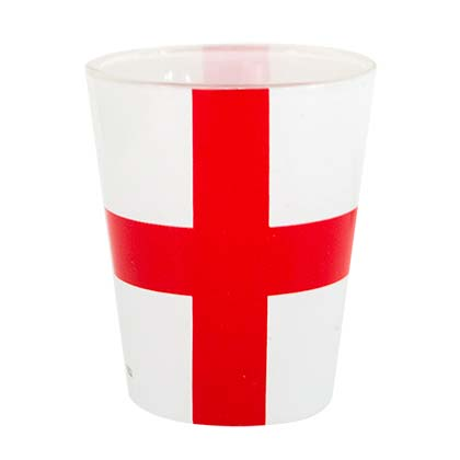 English Flag Shot Glass