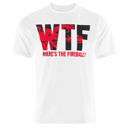 Fireball WTF White Tee Shirt