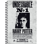 Harry Potter Notebook A5 Undesirable No 1