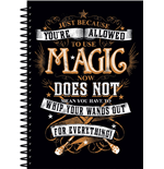 Harry Potter Notebook A5 Magic