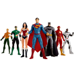Justice League Bendable Figures 7-Pack 20 cm