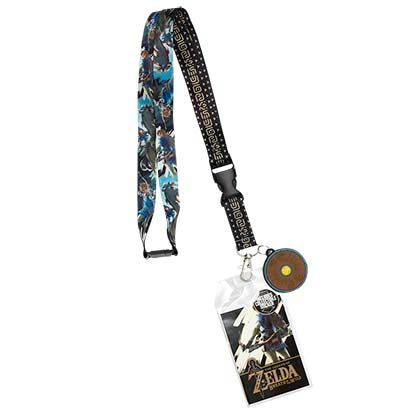 The LEGEND OF ZELDA Breath Of The Wild Lanyard