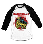 Iron Maiden - Raglan Baseball Piece Of Mind T-shirt