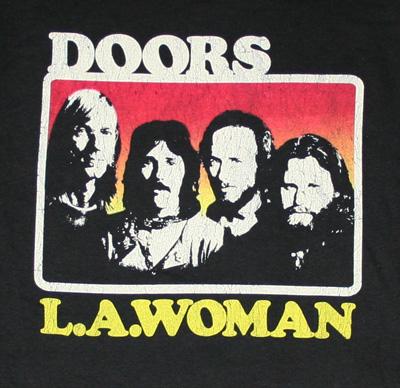 The Doors LA Woman T Shirt