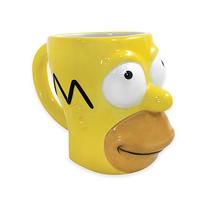 The SIMPSONS Molded Homer Mug