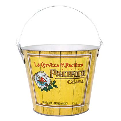 PACIFICO Beer Bucket With Built In Bottle Opener