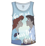 The Little Mermaid Sublimation Girlie Tank Top Kiss The Girl
