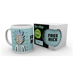 Rick and Morty Mug - Free Rick