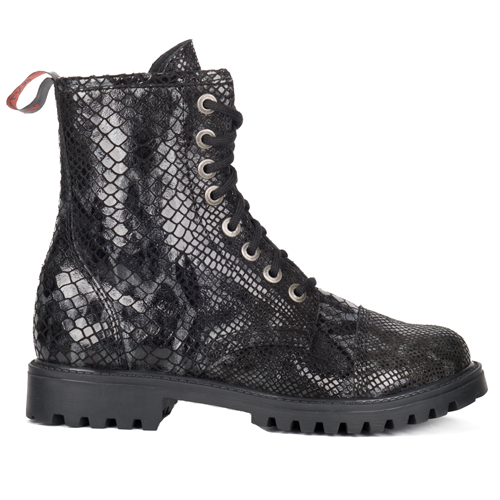 Aderlass 8-Eye Boots Leather Snake