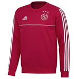 2017-2018 Ajax Adidas Sweat Top (Red)