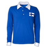 Finland 1955 Long Sleeve Retro Shirt 100% cotton