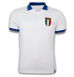 Italy Away WC 1982 Short Sleeve Retro Shirt 100% cotton