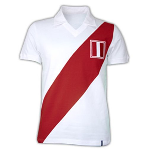 Peru 1970's Short Sleeve Retro Shirt 100% cotton