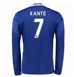 2016-17 Chelsea Home Long Sleeve Shirt (Kante 7)