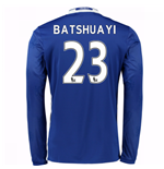 2016-17 Chelsea Home Long Sleeve Shirt (Batshuayi 23)