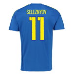 2016-7 Ukraine Away Shirt (Seleznyov 11)