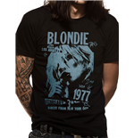 Blondie - 1977 Nyc - Unisex T-shirt Black