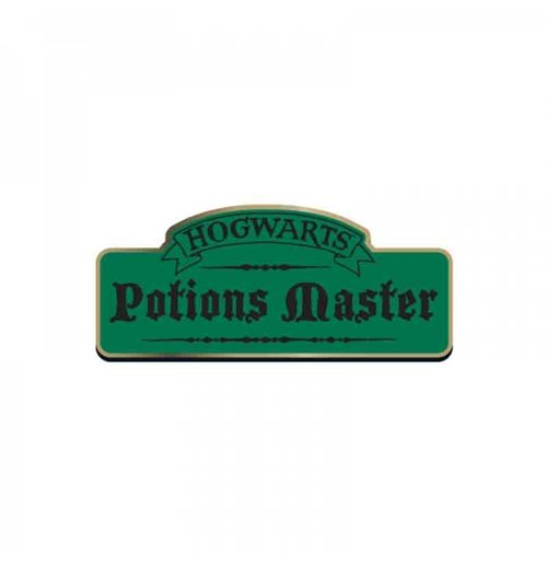 Harry Potter - Potions Master Enameled Badge
