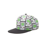 NINTENDO Gameboy All-over Print Snapback Baseball Cap, One Size, Multi-colour