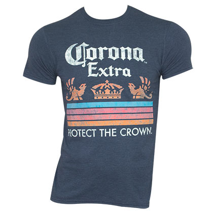 CORONA EXTRA Protect The Crown Blue Tee Shirt