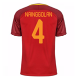2017-18 Roma Home Shirt - Kids (Nainggolan 4)