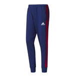 2017-2018 Ajax Adidas Sweat Pants (Dark Blue)