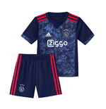 2017-2018 Ajax Adidas Away Mini Kit