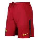 2017-2018 AS Roma Nike Home Shorts (Red)