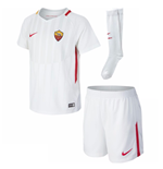 2017-2018 AS Roma Away Nike Little Boys Mini Kit