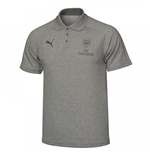2017-2018 Arsenal Puma Casual Performance Polo Shirt (Grey)