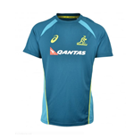 2017-2018 Australia Wallabies Rugby Training Jersey (Legion Blue)