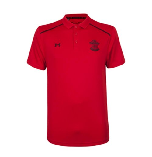 2017-2018 Southampton Team Polo Shirt (Red)