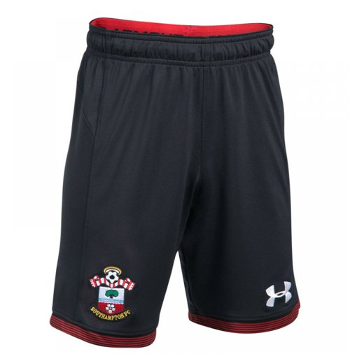 2017-2018 Southampton Home Football Shorts (Black)