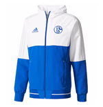 2017-2018 Schalke Adidas Presentation Jacket (Blue)