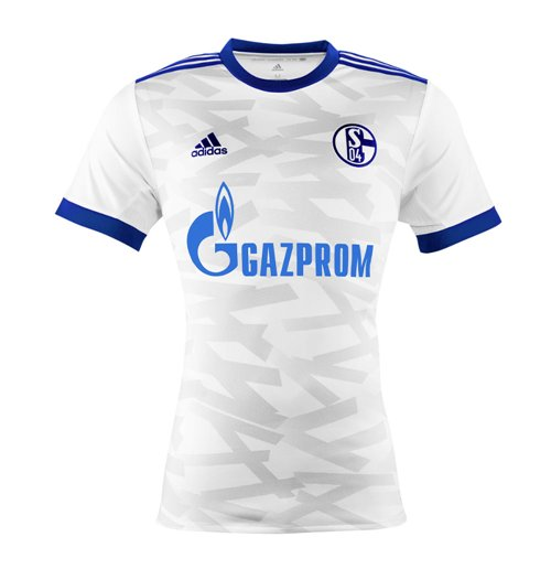 2017-2018 Schalke Adidas Away Football Shirt